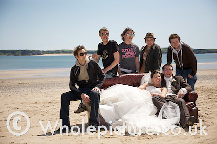 The Band and the Newlyweds