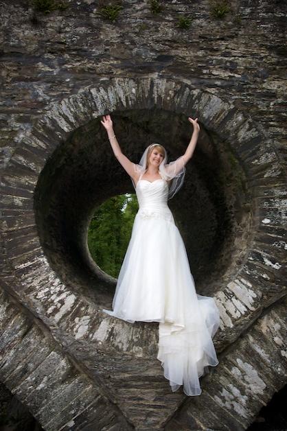 Cenarth Falls wedding