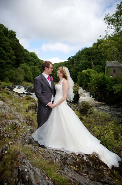 Cenarth Falls Wedding Photos