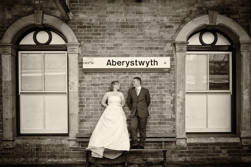 Take Two Aberystwyth train station