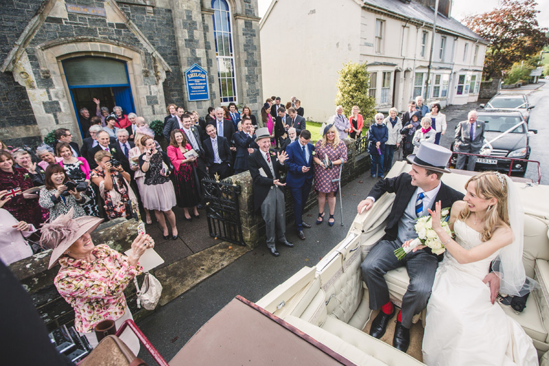 Wedding Photography at Falcondale Mansion by Whole Picture