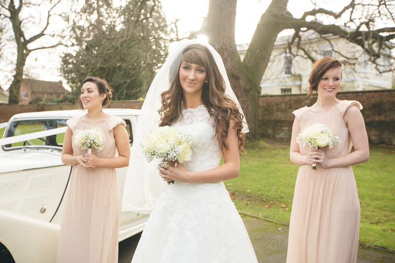 Winter wedding at Manor by the Lake