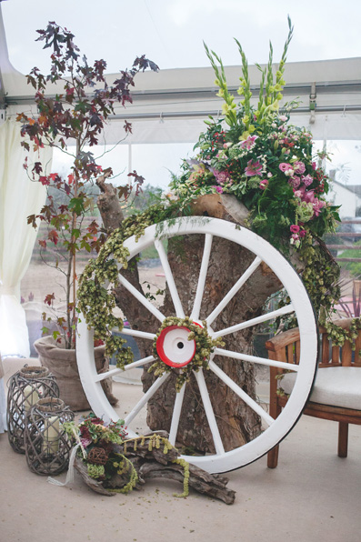 Autumn wedding at home on the farm by Whole Picture Weddings