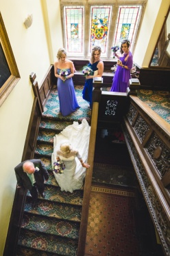 Summer wedding at Rhosygilwen by Whole Picture Weddings