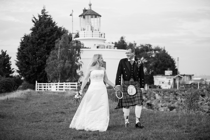 Take Two Photoshoot at West Usk Lighthouse by Whole Picture Weddings