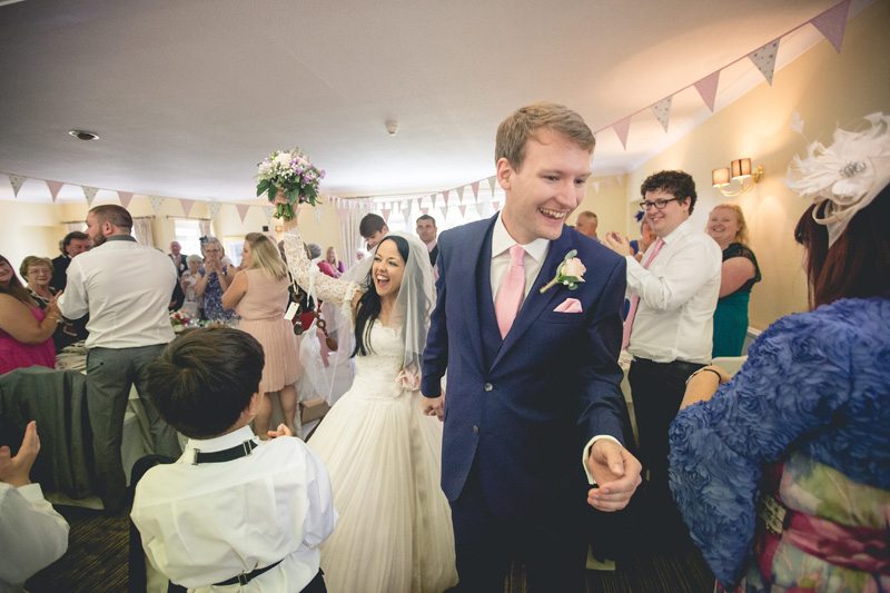 Summer wedding at The Conrah by Whole Picture Weddings