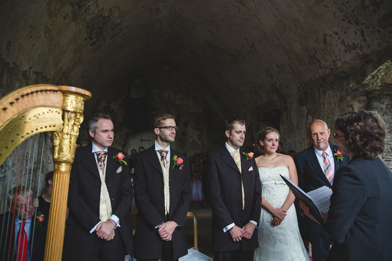 Wedding at Manorbier Castle by Whole Picture Weddings