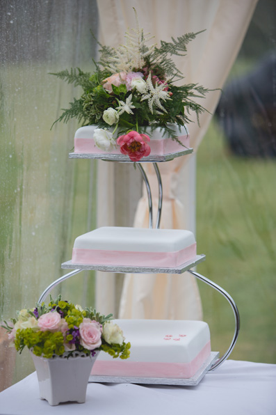 Spring marquee wedding with duck race by Whole Picture Weddings
