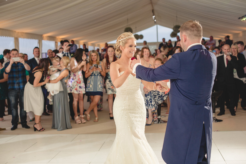 Coastal marquee wedding by Whole Picture Weddings